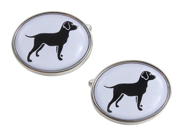 Black Dog Cufflinks