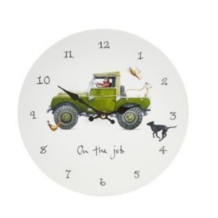 On The Job Wall Clock