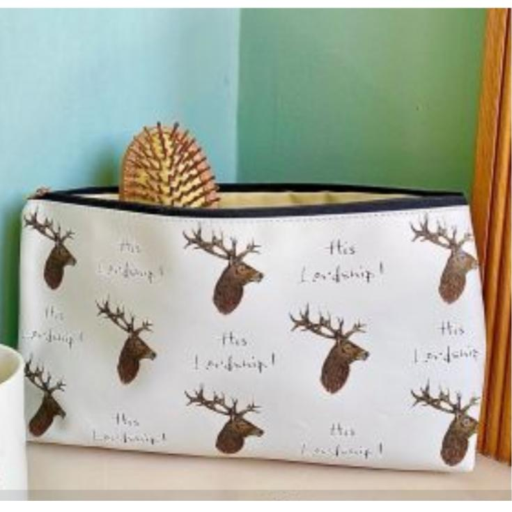 Mens Wash Bag - His Lordship