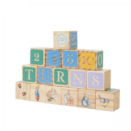 Beatrix Potter Peter Rabbit Building Blocks Gift Set back