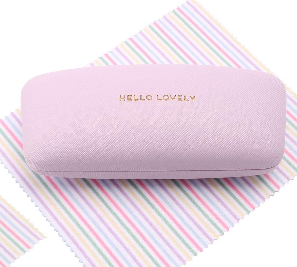 LAVENDER GLASSES CASE FRONT