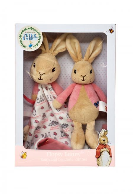 Peter Rabbit Flopsy Bunny Gift Set