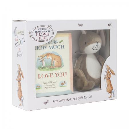 Guess How Much I Love You Book and Soft Toy in box gift set