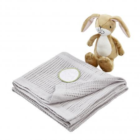 Guess how much I love you blanket and soft toy gift set