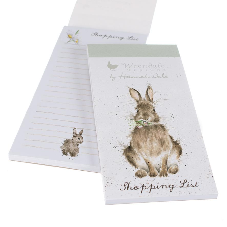 Wrendale Magnetic Shopping Pad Rabbit