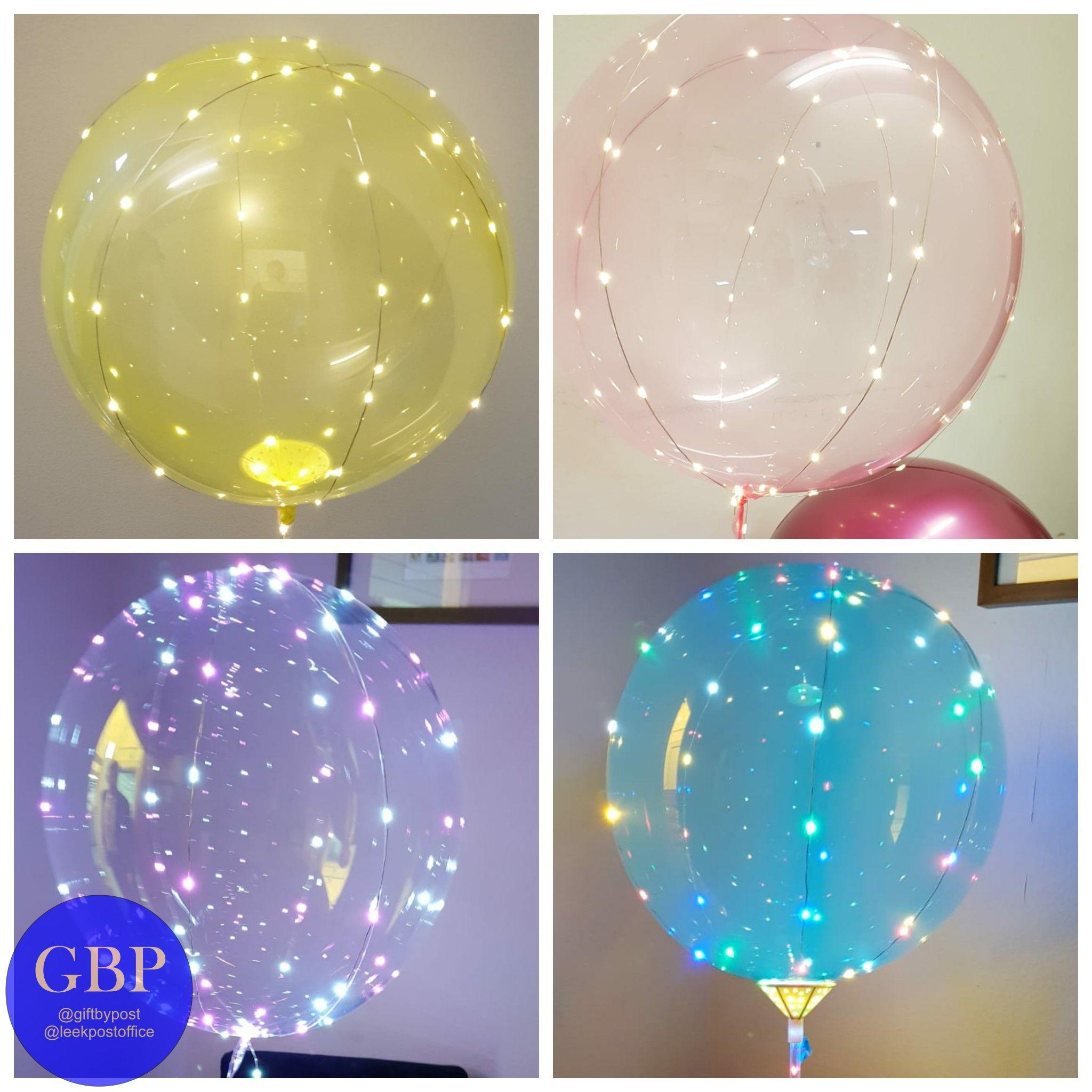 LED Balloon Transparent Colour