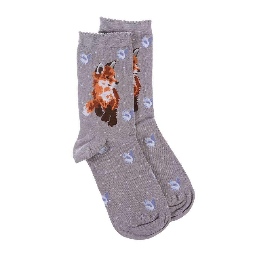 Wrendale Fox Socks