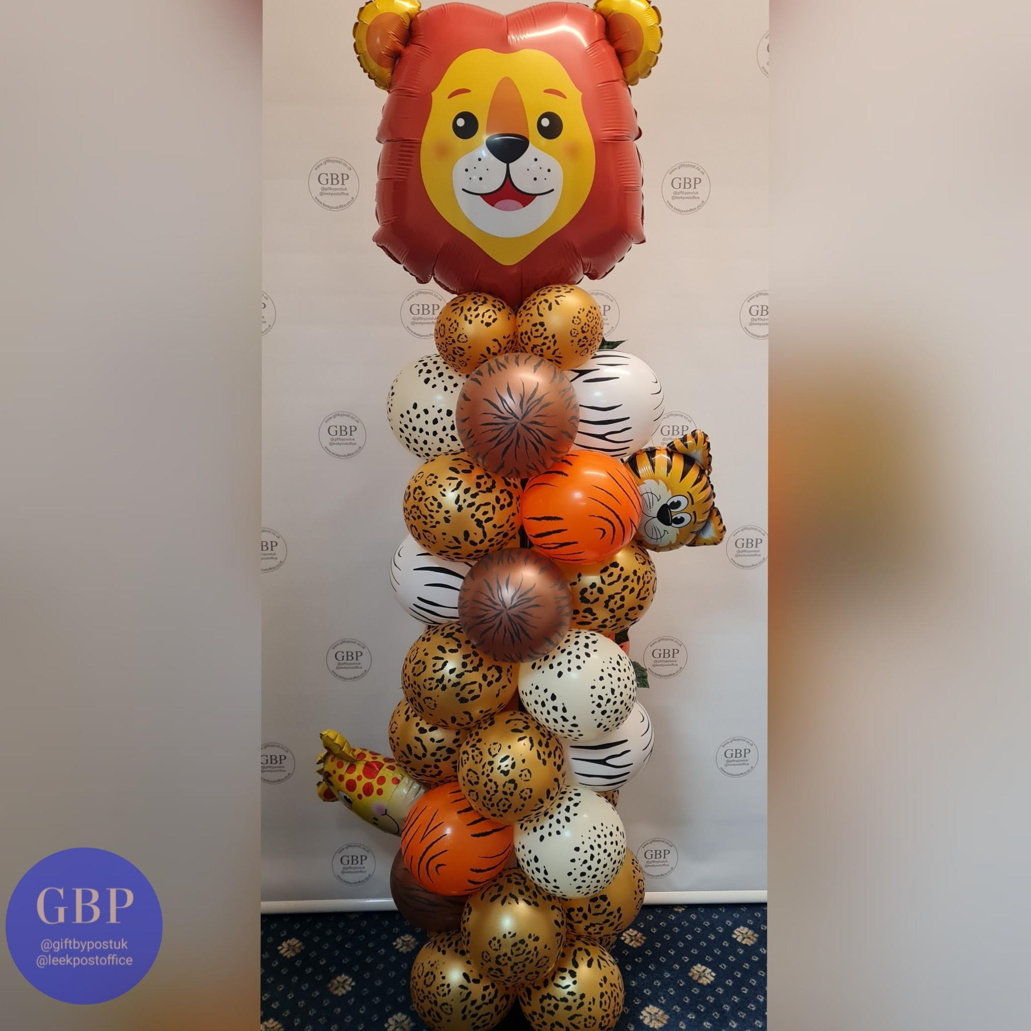 Balloon Column with character, Lion