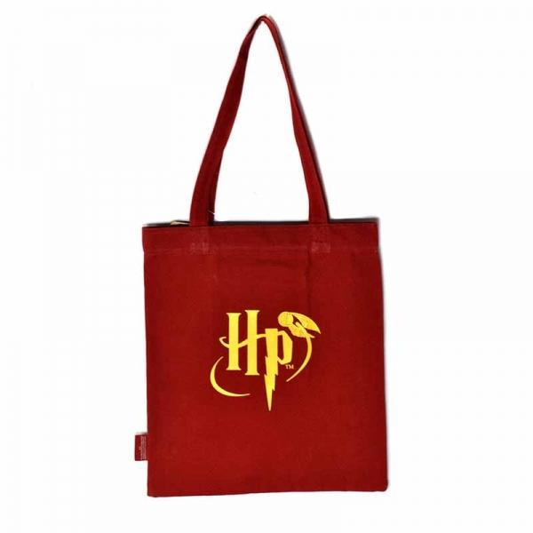 Harry Potter 9 3/4 tote canvas bag back