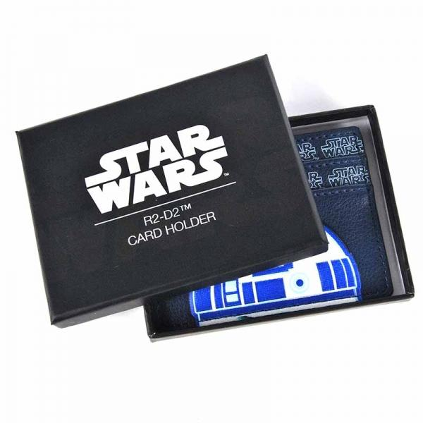 Star Wars Card Holder R2-D2 Badge Boxed