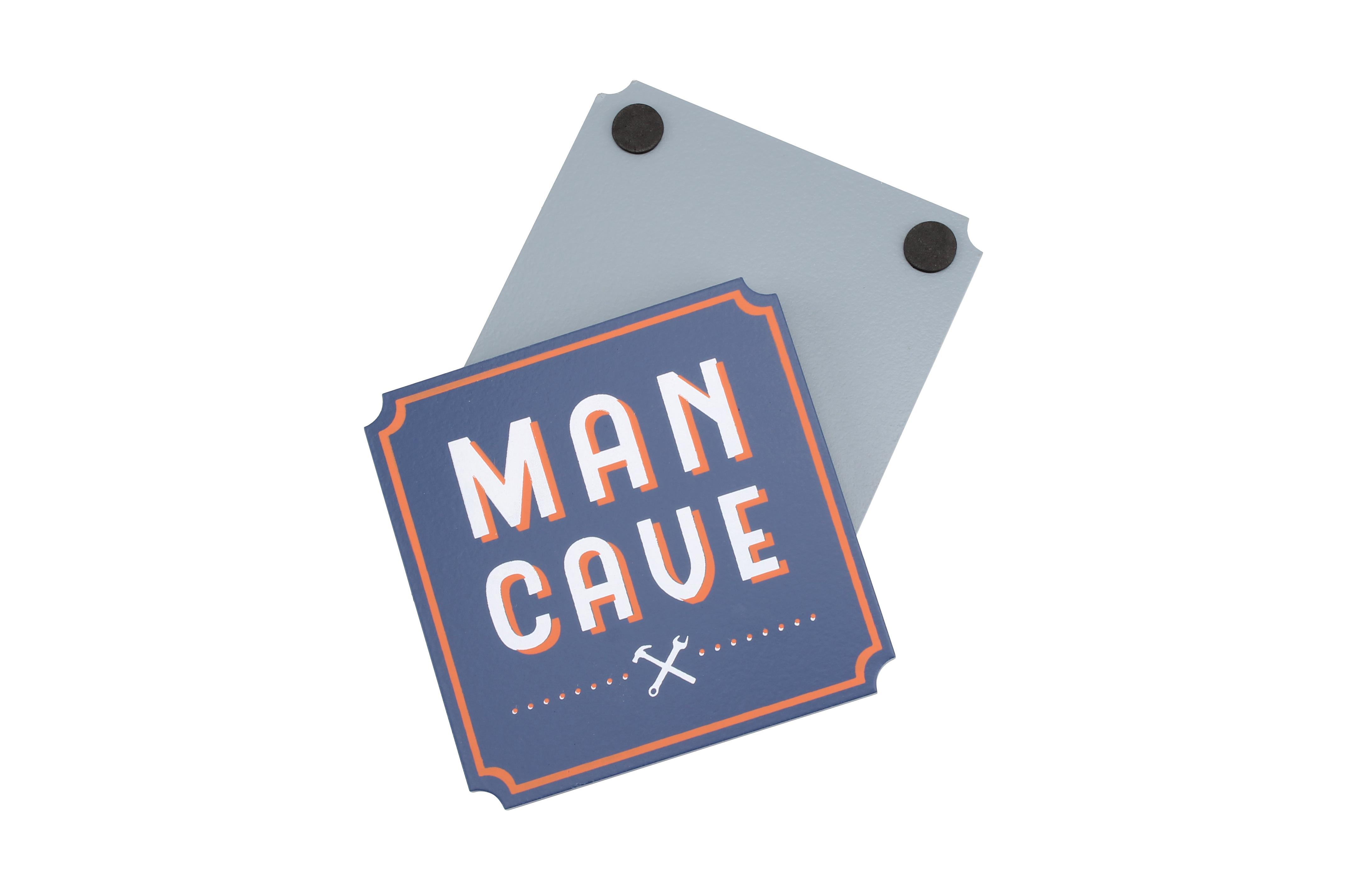 MAN CAVE WOODEN COASTER