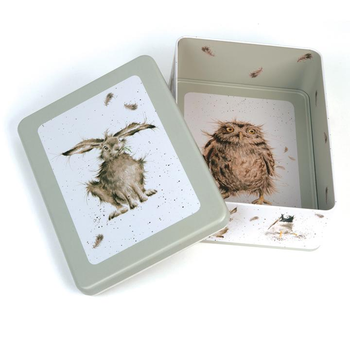 WRENDALE RECTANGULAR TIN - HARE OPEN