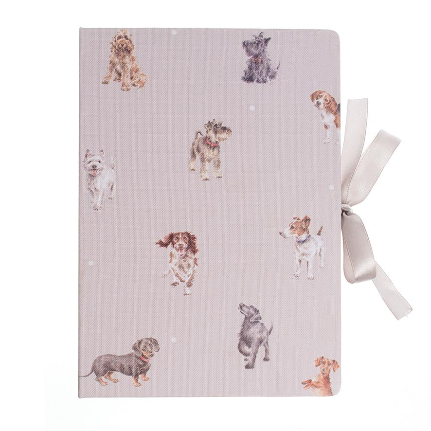 WRENDALE STICKY NOTES BOOK - DOGS FRONT
