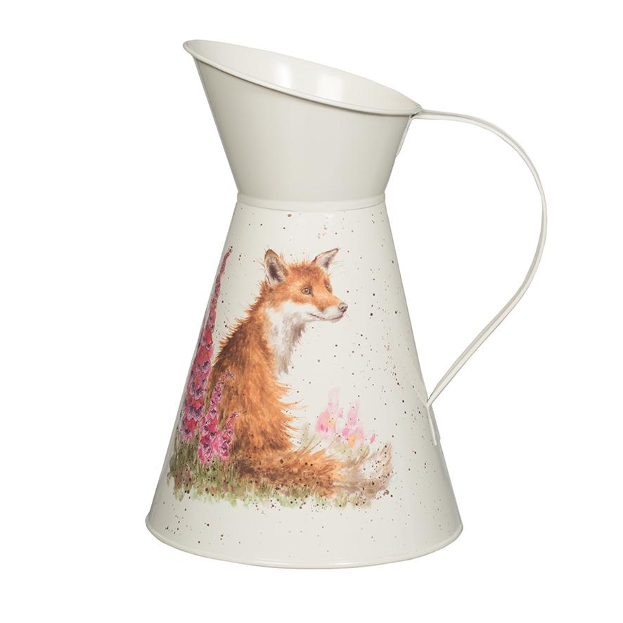 WRENDALE FLOWER JUG - FOX FRONT