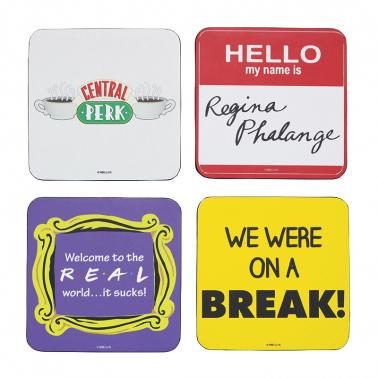 FRIENDS FOUR COASTERS
