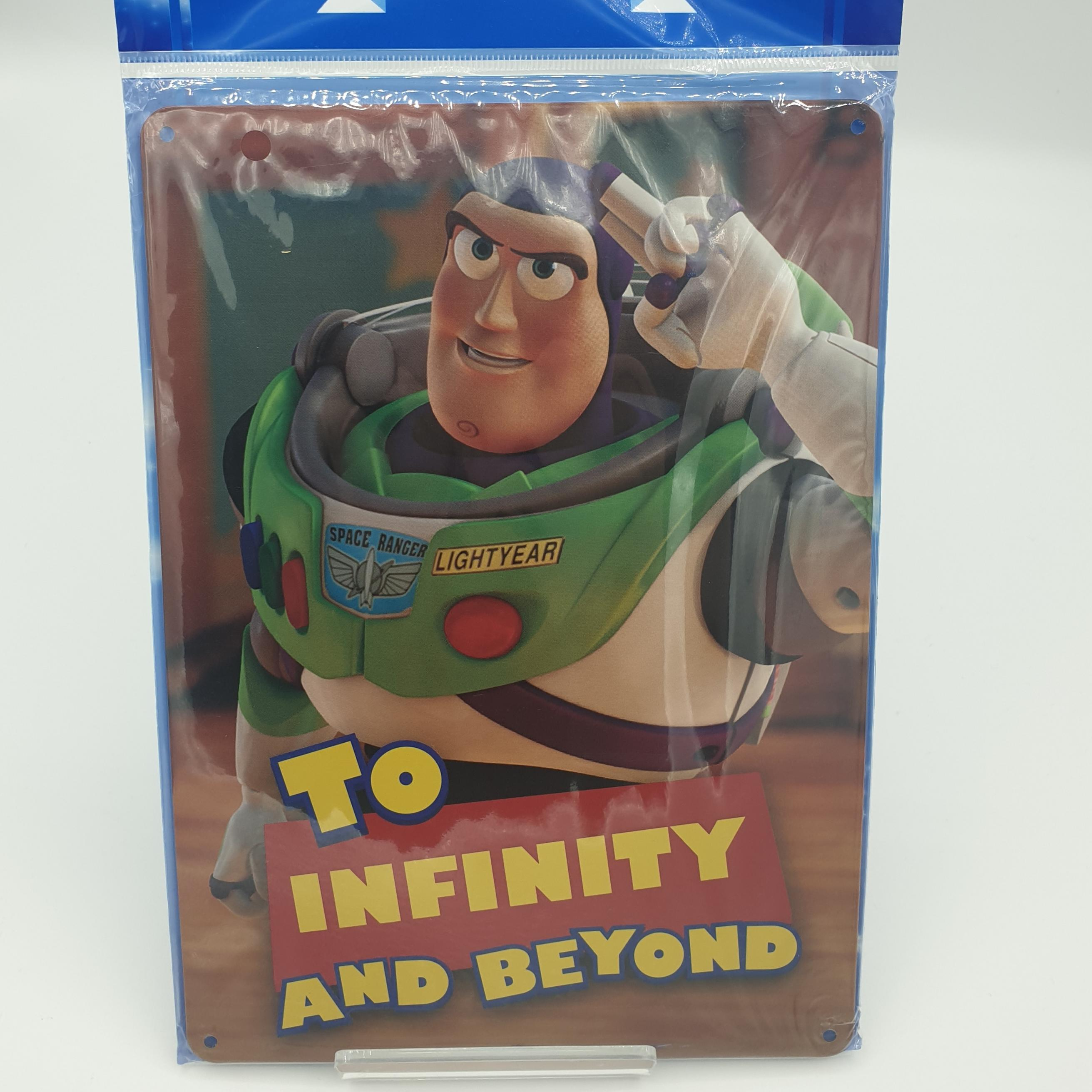 Metal Sign Toy Story