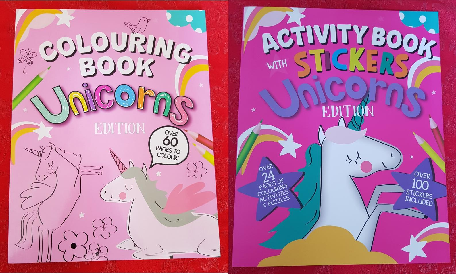 Unicorn Colouring and Sticker Book