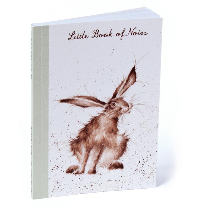 a6 wrendale notebook featuring a hare