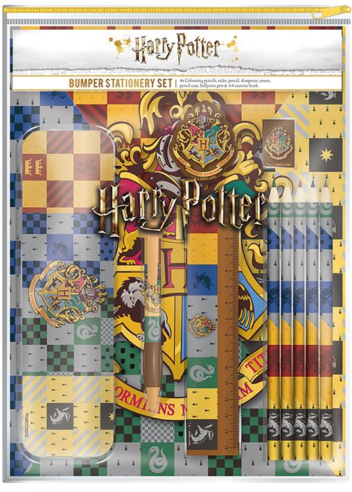 Harry Potter bumper stationary set in pack