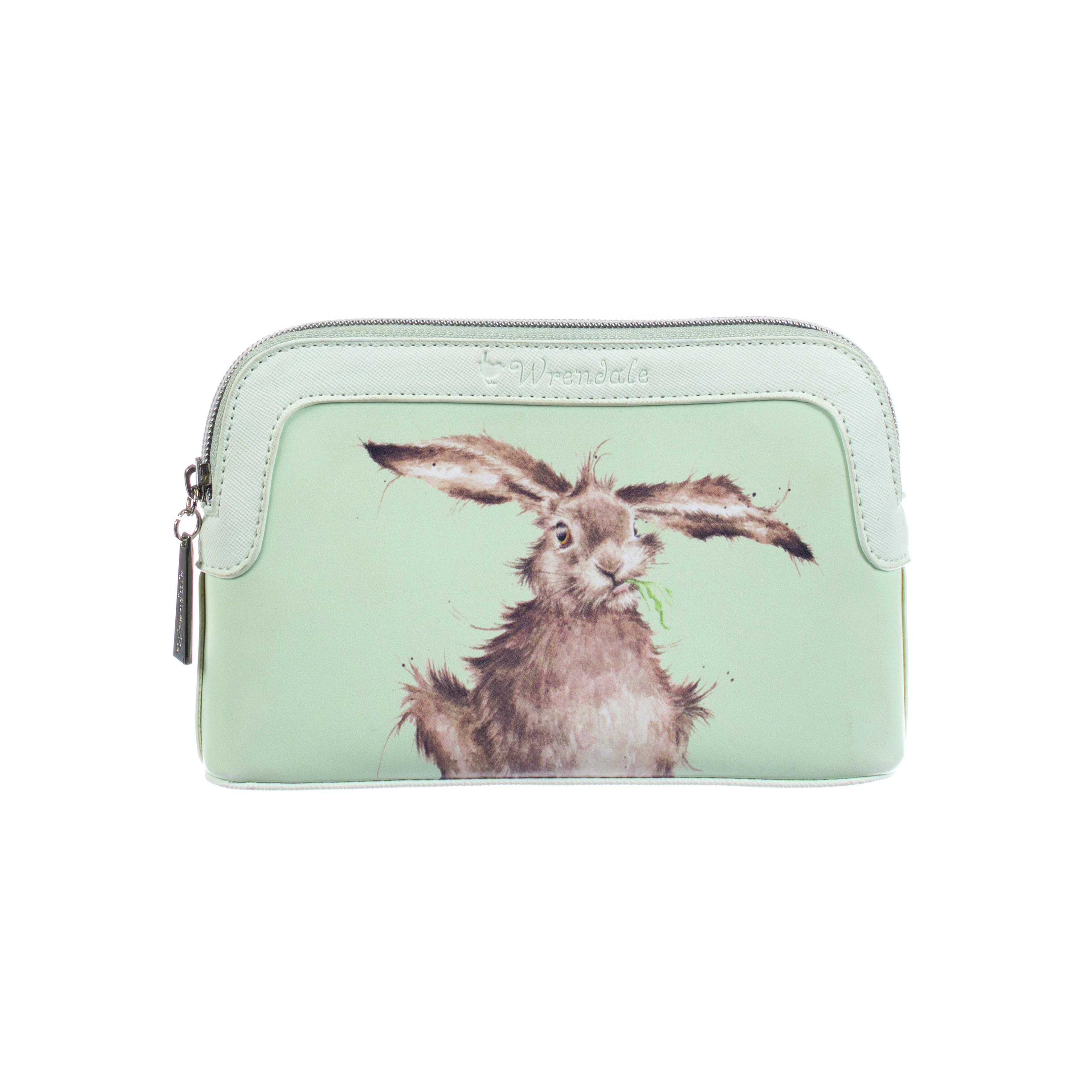 WRENDALE COSMETIC BAG SMALL - HARE FRONT