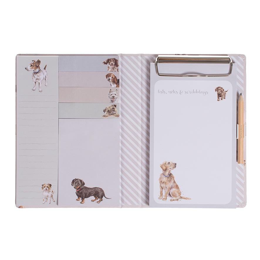 WRENDALE STICKY NOTES BOOK - DOGS INSIDE