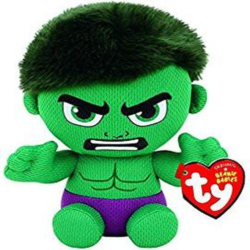 Marvels The Incredible Hulk Beanie Baby