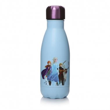 Frozen 2 Mini Water Bottle Flask Front