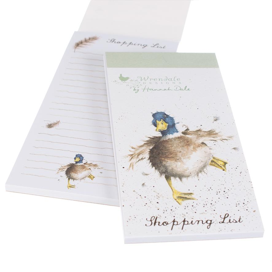 Wrendale Magnetic Shopping Pad Duck