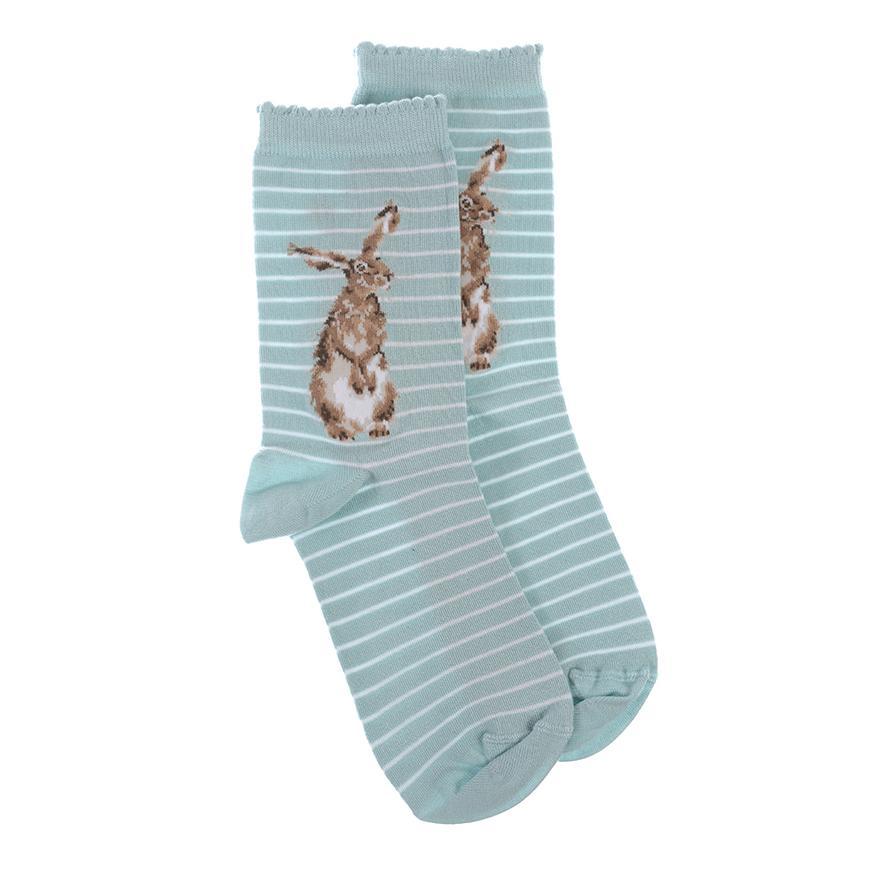 Wrendale Hare Socks