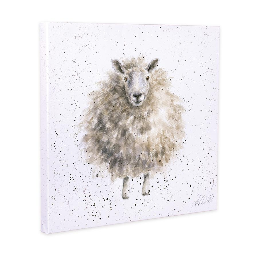 sheep canvas wrendale