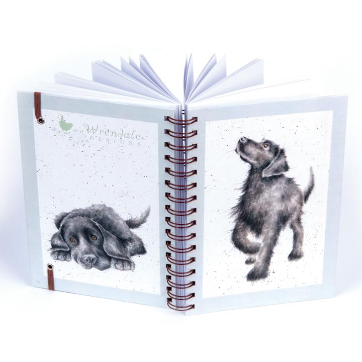labrador notebook wrendale