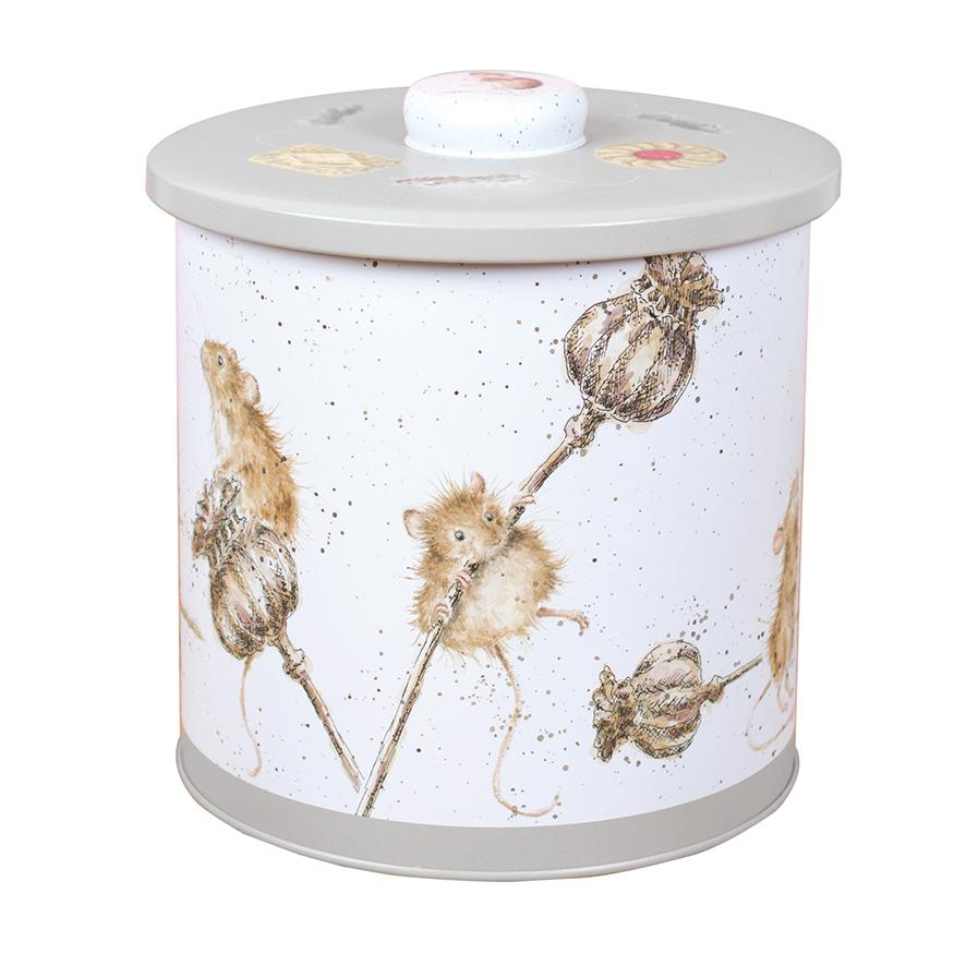 WRENDALE BISCUIT BARREL - MICE / HAMSTER FRONT