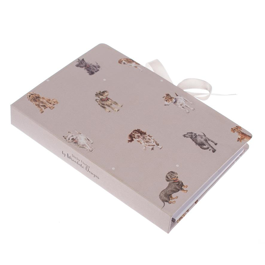 WRENDALE STICKY NOTES BOOK - DOGS SIDE