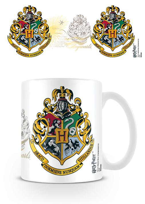 HARRY POTTER HOWARTS CREST MUG