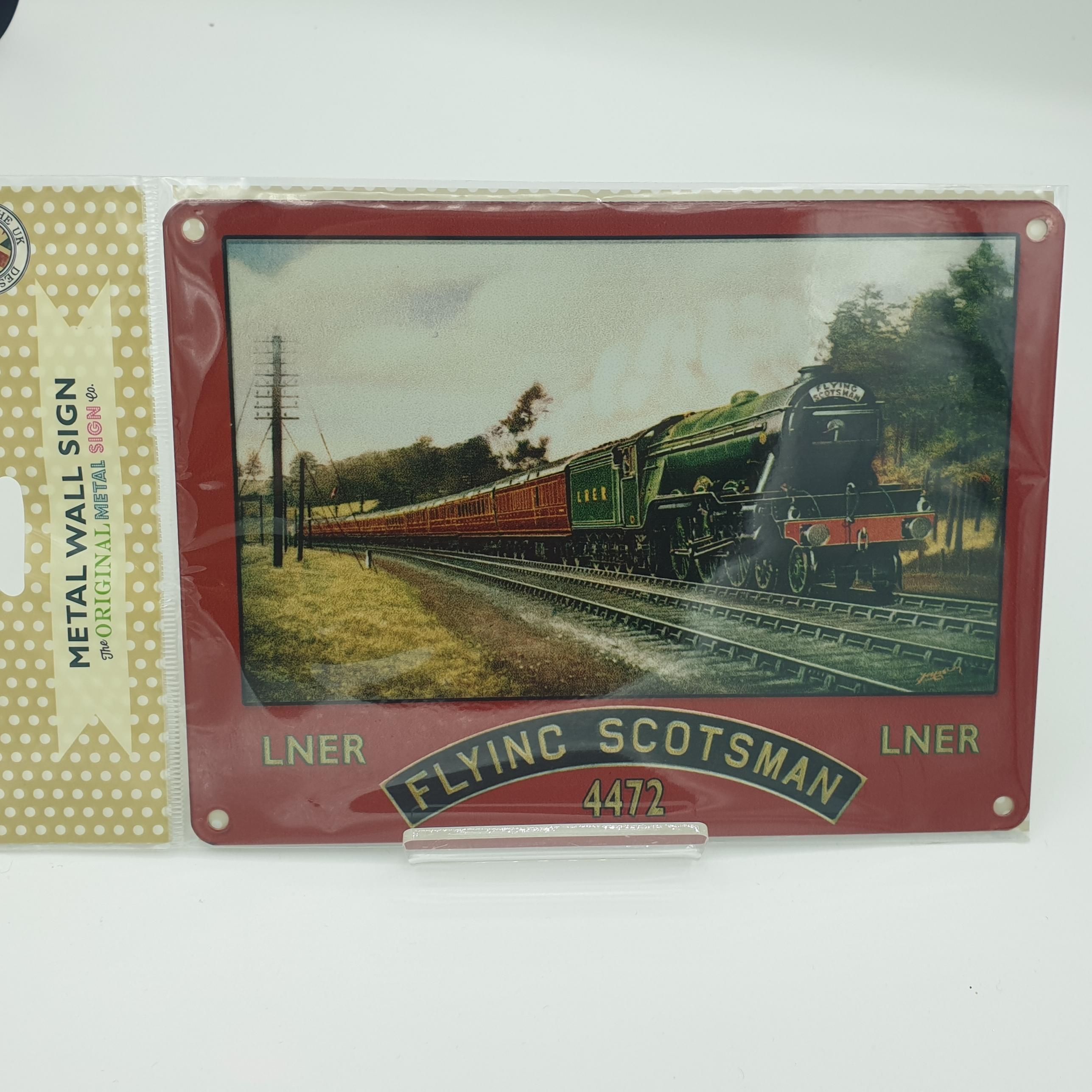 Metal Signs Flying Scotsman