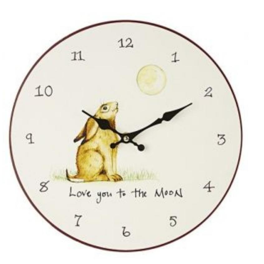 Wall Clock - Love You To The Moon