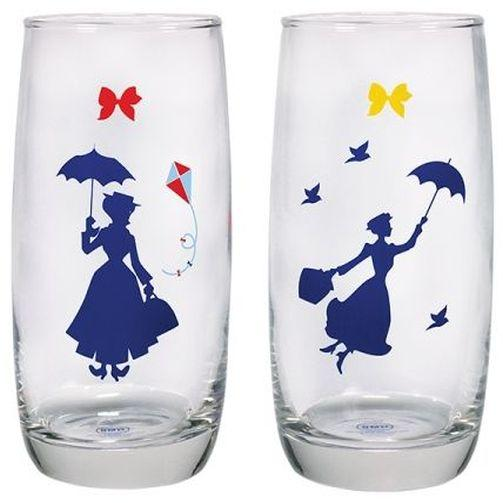 Mary Poppins Drinking Glasses