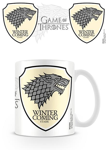 game of thrones stark winter is coming mug