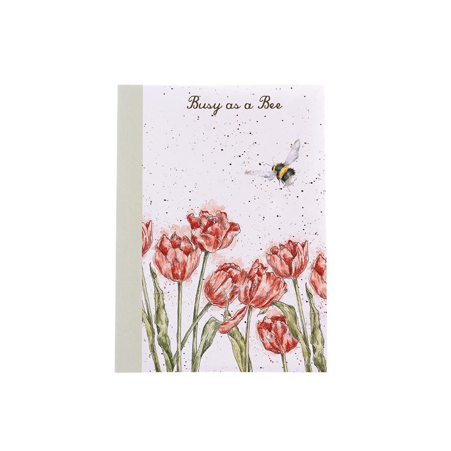 Wrendale A6 Notebook Bee
