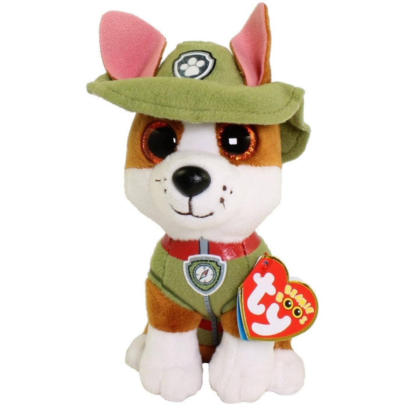 Nickelodeon Paw Patrol Tracker TY soft toy