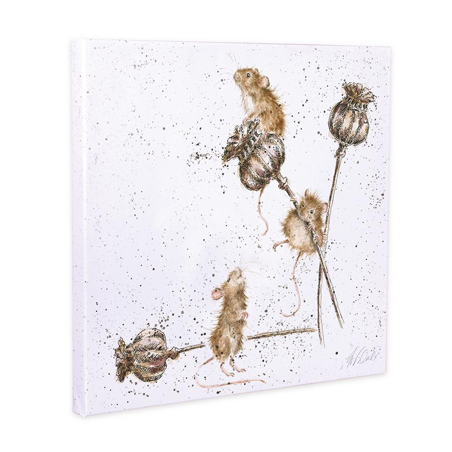 country mice canvas wrendale