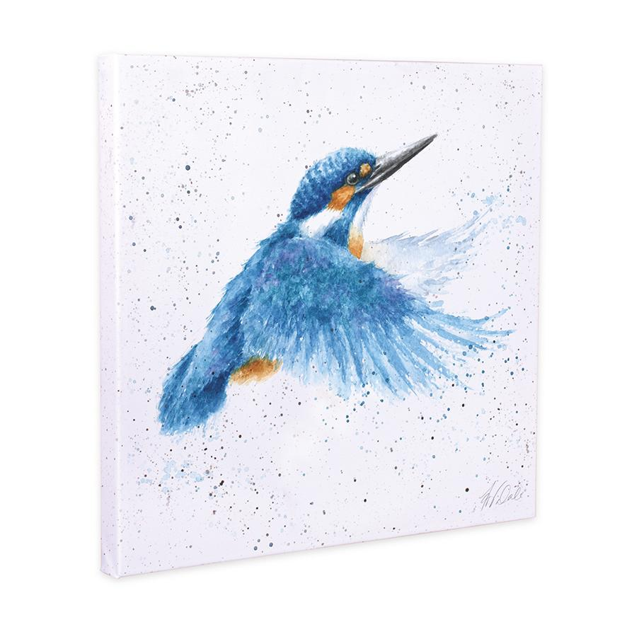 kingfisher canvas wrendale