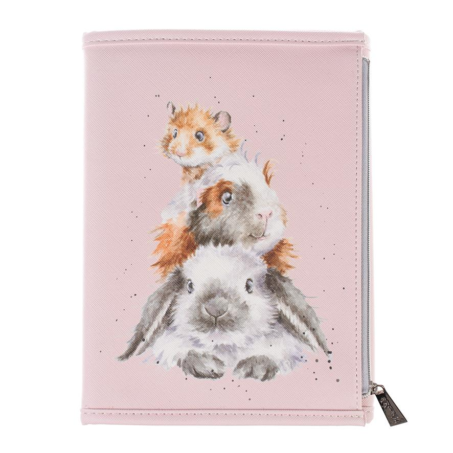 piggy in the middle notebook wallet wrendale
