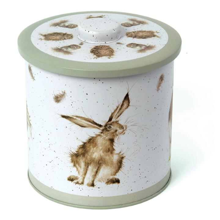 WRENDALE BISCUIT BARREL - WILDLIFE FRONT