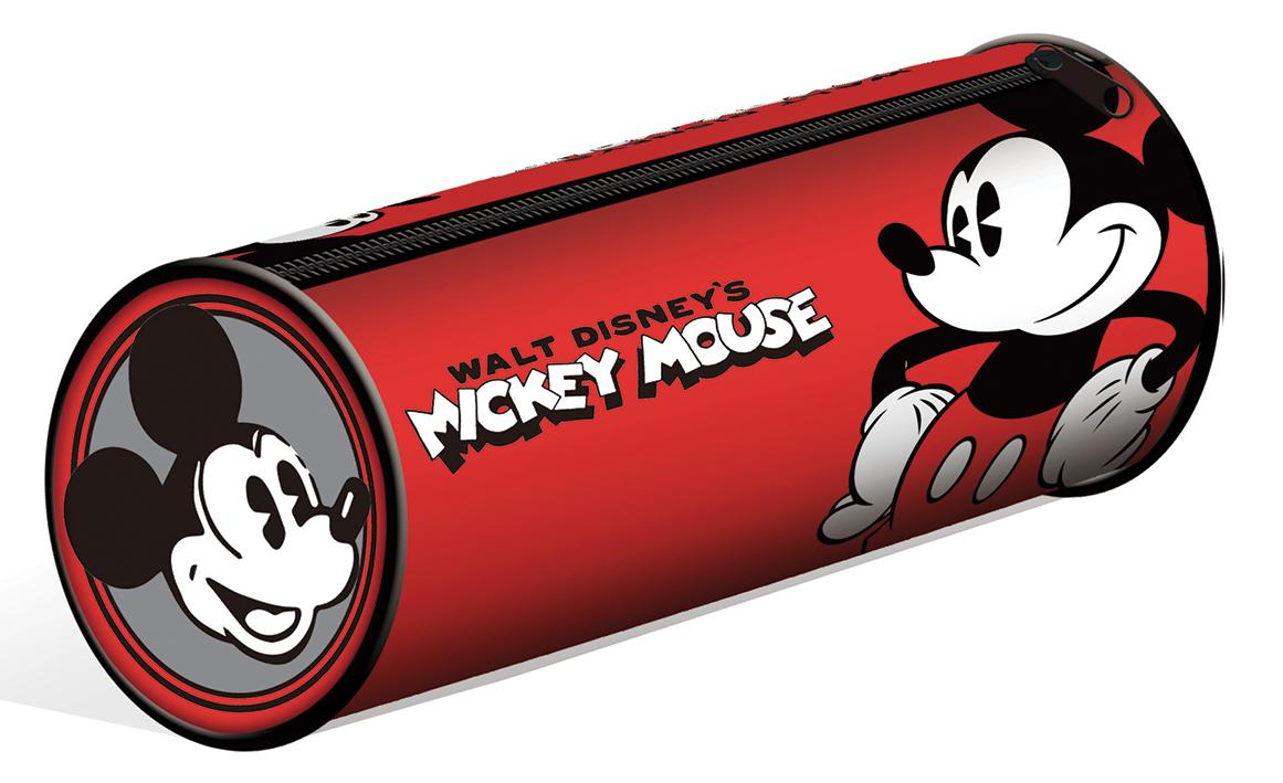 MICKEY MOUSE BARREL PENCIL CASE