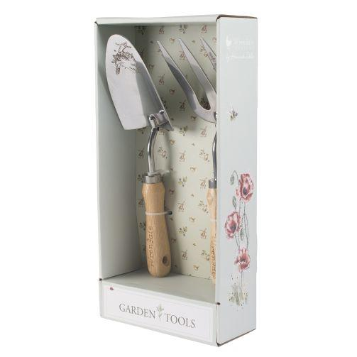 Wrendale fork and trowel set boxed side
