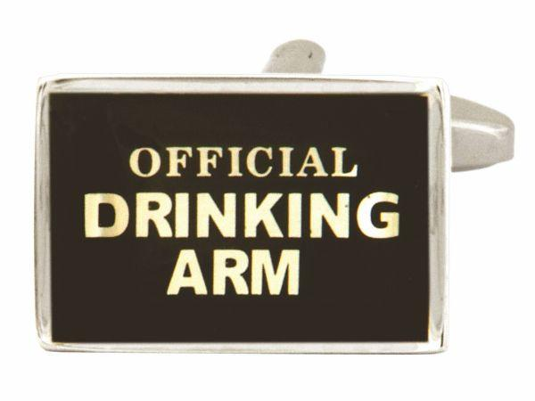 Official Drinking Arm Cufflink