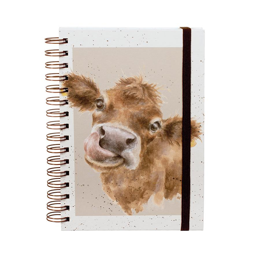 cow notebook wrendale