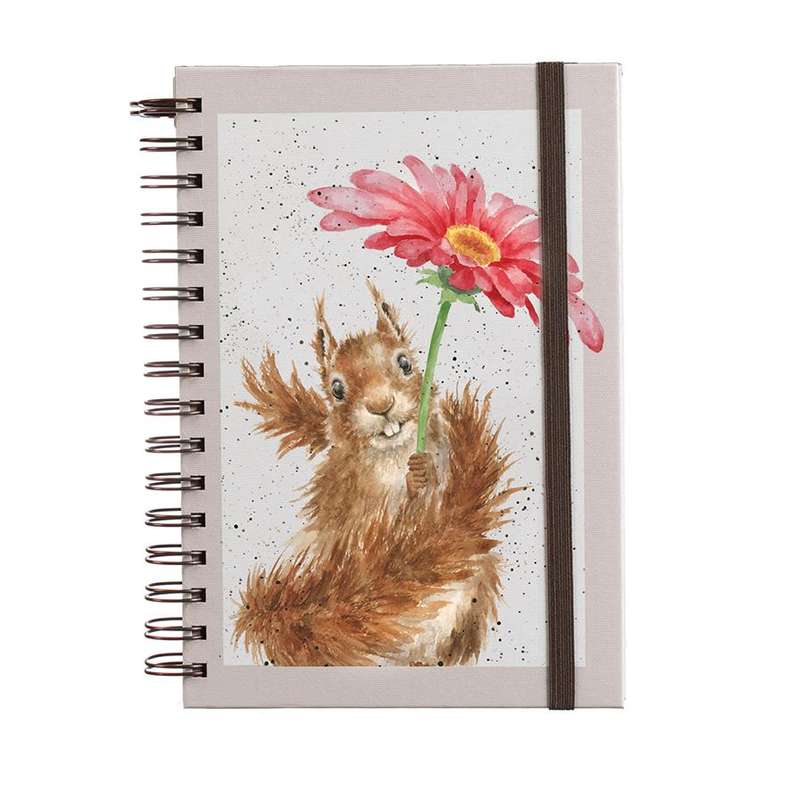 flowers notebook wrendale