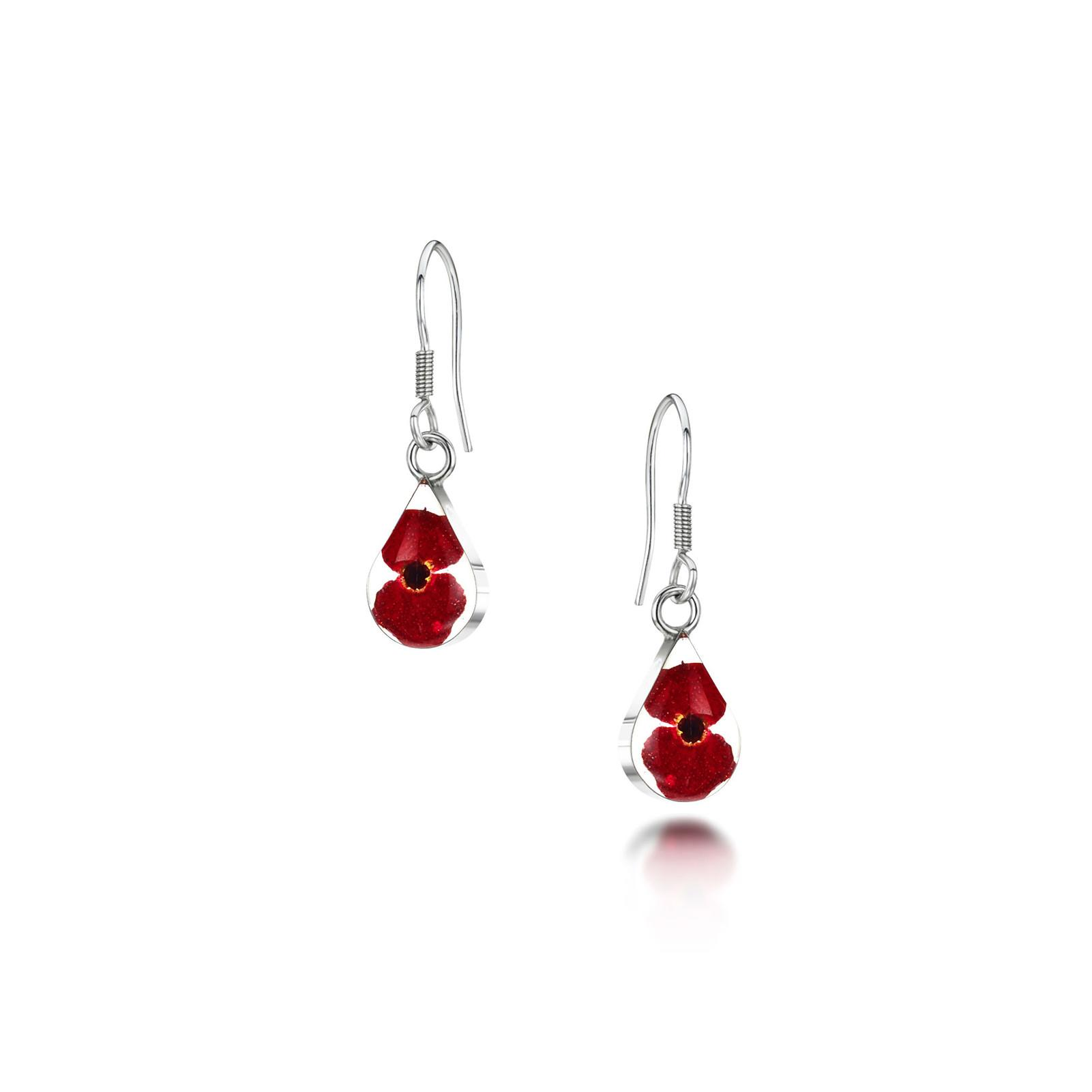 POPPY EARRINGS OVAL